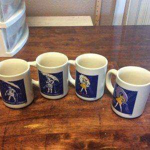 Other - SET of 4 Morton Salt Collectors Mugs